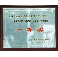 2011年度讲理想比贡献一等奖